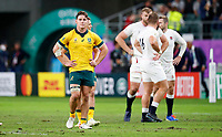 Rugby Union - 2019 Rugby World Cup - Quarter-Final: England vs. Australia<br /> <br /> Michael Hooper of Australia at Oita Stadium, Oita Prefecture.<br /> <br /> COLORSPORT/LYNNE CAMERON