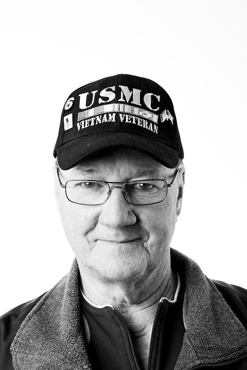 Edward Macek<br /> Marine Corps<br /> Sergeant (E-5)<br /> Driver<br /> 1963 - 1966<br /> Vietnam<br /> <br /> WaterFire Event<br /> Veterans Portrait Project<br /> Providence, RI
