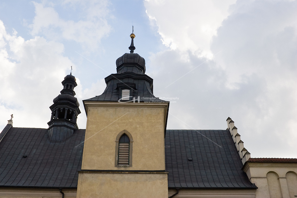 Church of St John the Baptist & St Augustine in Krakow Poland