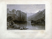 Scene on the River Orontes, Near Suadeah (Lebanon) From Syria, the Holy Land, Asia Minor, etc. : by  Carne, John, 1789-1844; Bartlett, W. H. (William Henry), 1809-1854; Purser, William Publisher: London, Fisher [1839-40]