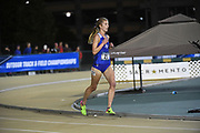 Teri Brady (23) of Air Force runs in the women's 10,000m during the NCAA West Track & Field Preliminary, Thursday, May 25, 2019, in Sacramento, Calif.