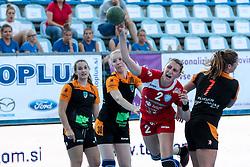 Tamara Georgijev of RK Krim Mercator during handball match between RK Zagorje and RK Krim Mercator of Super Cup 2016, on August 27, 2016 in SRC Marina, Portoroz / Portorose, Slovenia. Photo by Matic Klansek Velej / Sportida