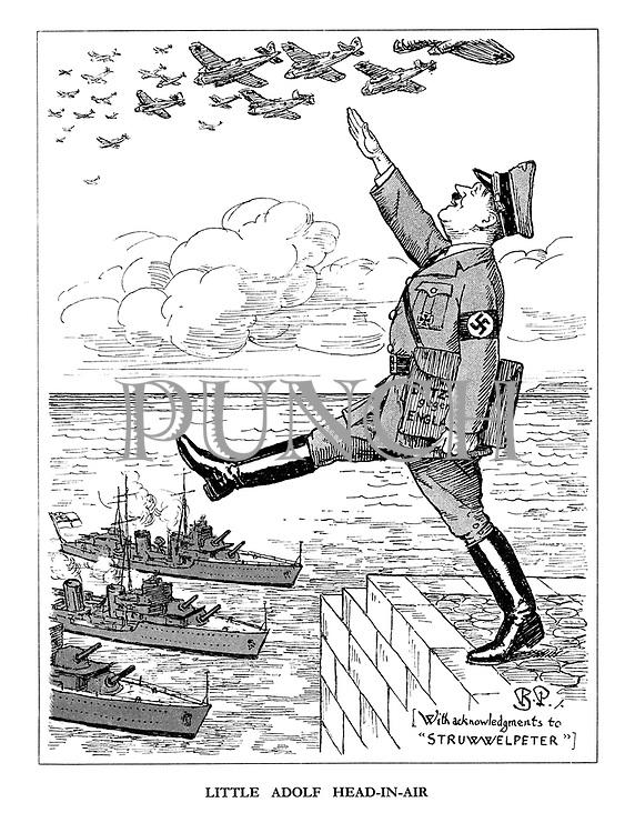 Little Adolf Head-in-Air