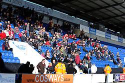 Bristol City fans - Photo mandatory by-line: Dougie Allward/JMP - Mobile: 07966 386802 22/03/2014 - SPORT - FOOTBALL - Colchester - Colchester Community Stadium - Colchester United v Bristol City - Sky Bet League One