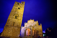 Torre Campanaria and Duomo, Erice, Sicily, Italy