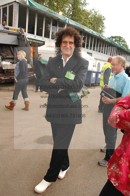 BRIAN MAY at the 2008 Chelsea Flower Show 19th May 2008.<br /><br />NON EXCLUSIVE - WORLD RIGHTS