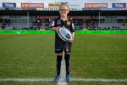 The Exeter Chiefs Match Mascot prior to kick off - Mandatory by-line: Ryan Hiscott/JMP - 29/12/2019 - RUGBY - Sandy Park - Exeter, England - Exeter Chiefs v Saracens - Gallagher Premiership Rugby
