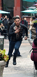 "Jon Bernthal Filming ""The Punisher"". 22 May 2018 Pictured: Jon Bernthal. Photo credit: SteveSands/NewYorkNewswire/MEGA TheMegaAgency.com +1 888 505 6342"