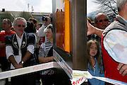 """Inauguration de la Place Bernard Romanens en hommage au célèbre chanteur du """"Lyoba"""", Rencontres des Céciliennes de la Gruyère, Marsens 2010. © Romano P. Riedo"""