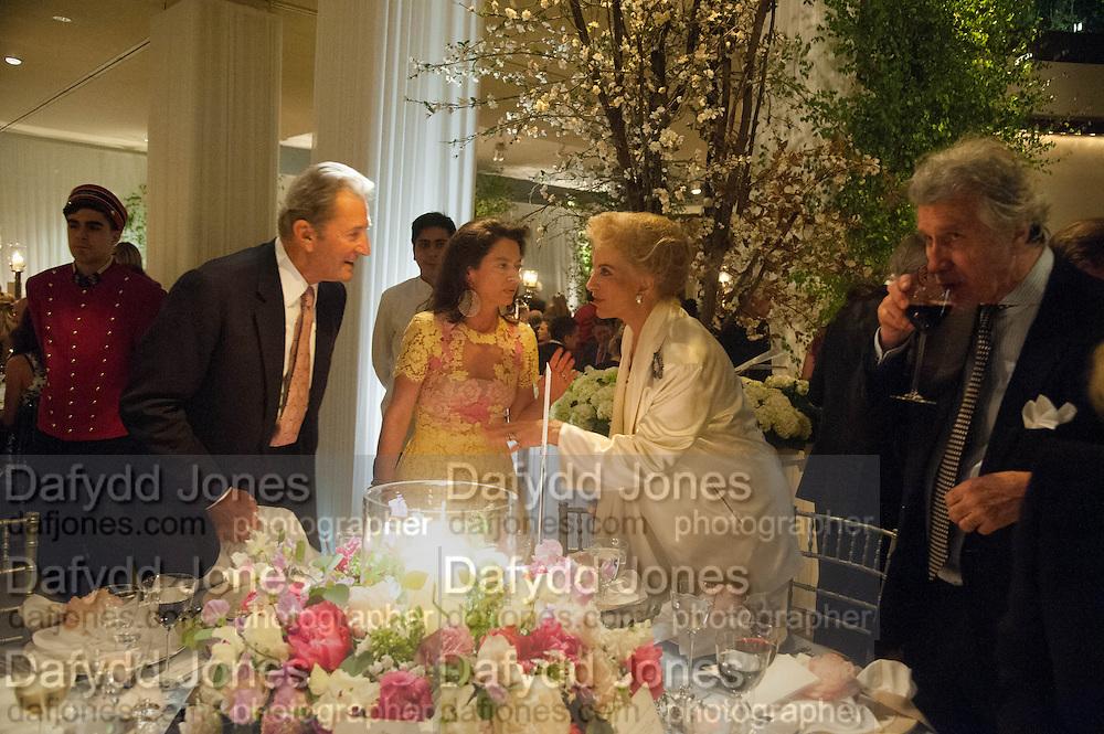 PRINCESS MICHAEL OF KENT; , The Cartier Chelsea Flower show dinner. Hurlingham club, London. 20 May 2013.