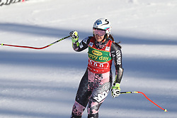 03.12.2017, Lake Louise, CAN, FIS Weltcup Ski Alpin, Lake Louise, Super G, Damen, im Bild Tina Weirather (LIE) // Tina Weirather of Liechtenstein reacts after the ladie's Super G of FIS Ski Alpine World Cup in Lake Louise, Canada on 2017/12/03. EXPA Pictures © 2017, PhotoCredit: EXPA/ SM<br /> <br /> *****ATTENTION - OUT of GER*****