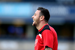 Lee Tomlin of Bristol City laughs during the warm up - Mandatory by-line: Robbie Stephenson/JMP - 09/08/2016 - FOOTBALL - Adams Park - High Wycombe, England - Wycombe Wanderers v Bristol City - EFL League Cup