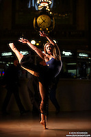 Dance As Art Grand Central Terminal with dancer Hannah Bush