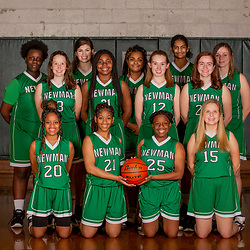 Newman Girls Basketball 2018