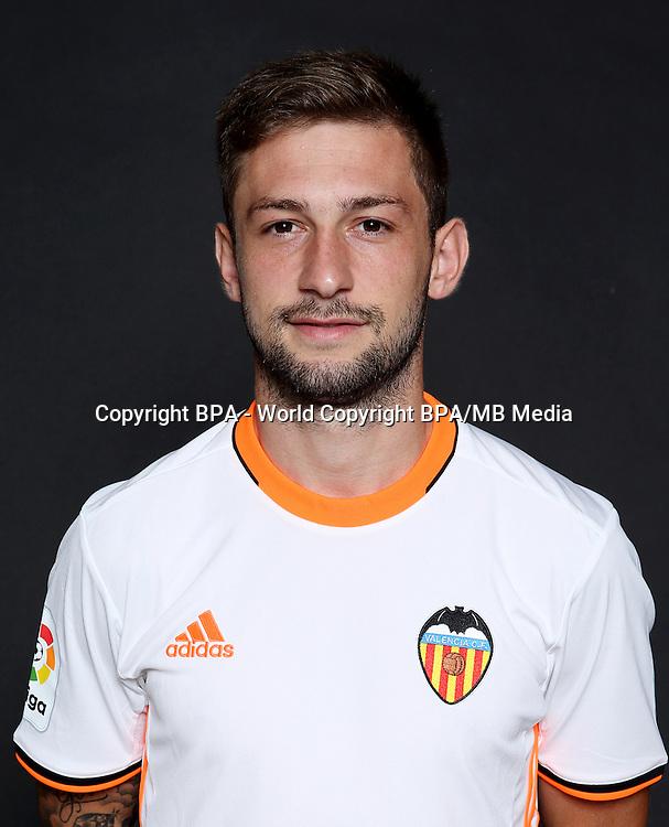 Spain - La Liga Santander 2016-2017 / <br /> ( Valencia C.F.) - <br /> Federico Nicolas Cartabia &quot; Fede Cartabia &quot;