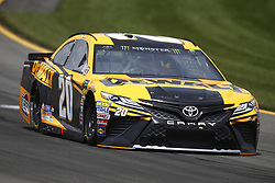 June 1, 2018 - Long Pond, Pennsylvania, United States of America - Erik Jones (20) brings his car through the turns during practice for the Pocono 400 at Pocono Raceway in Long Pond, Pennsylvania. (Credit Image: © Chris Owens Asp Inc/ASP via ZUMA Wire)
