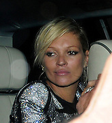 22.APRIL.2009 - LONDON<br /> <br /> SUPERMODEL KATE MOSS ARRIVING MOVIDA CLUB WHERE SHE PARTIED TILL 4.00AM AND LEFT LOOKING WORSE FOR WEAR.<br /> <br /> BYLINE MUST READ : EDBIMAGEARCHIVE.COM<br /> <br /> *THIS IMAGE IS STRICTLY FOR UK NEWSPAPERS & MAGAZINES ONLY*<br /> *FOR WORLDWIDE SALES OR WEB USE PLEASE CONTACT EDBIMAGEARCHIVE - 0208 954 5968*