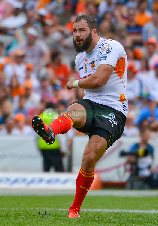 Niel Marais of the Free State Cheetahs during the Currie Cup Final between the The Free State Cheetahs and Blue Bulls held at Toyota Stadium (Free State Stadium), Bloemfontein, South Africa on the 22nd October 2016<br /> <br /> Photo by:   Frikkie Kapp / Real Time Images