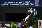 Dorothee Schneider - Sammy Davis Jr<br /> FEI Longines FEI World Cup Paris 2018<br /> &copy; DigiShots