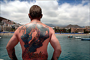 Tenerife / Los Cristianos June  2006 - Tenerife Island REPORTERS©Jean-Michel Clajot