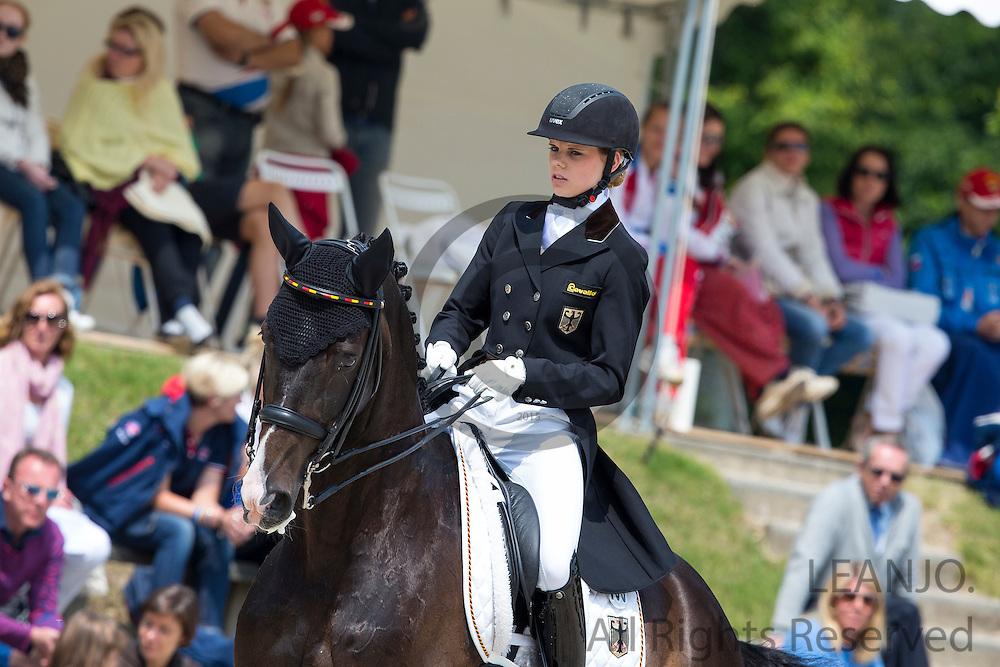 Johanne Pauline von Danwitz - Habitus 10<br /> FEI European Dressage Championships for Young Riders and Juniors 2013<br /> &copy; DigiShots