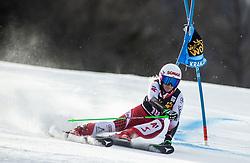 BREM Eva-Maria of Austria competes during the Ladies' GiantSlalom at 56th Golden Fox event at Audi FIS Ski World Cup 2019/20, on February 15, 2020 in Podkoren, Kranjska Gora, Slovenia. Photo by Matic Ritonja / Sportida
