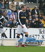 Dundee's Jan Zemlik leaves the field after being red carded  - St Johnstone v Dundee, McDiarmid Park, Perth, 18/08/2007
