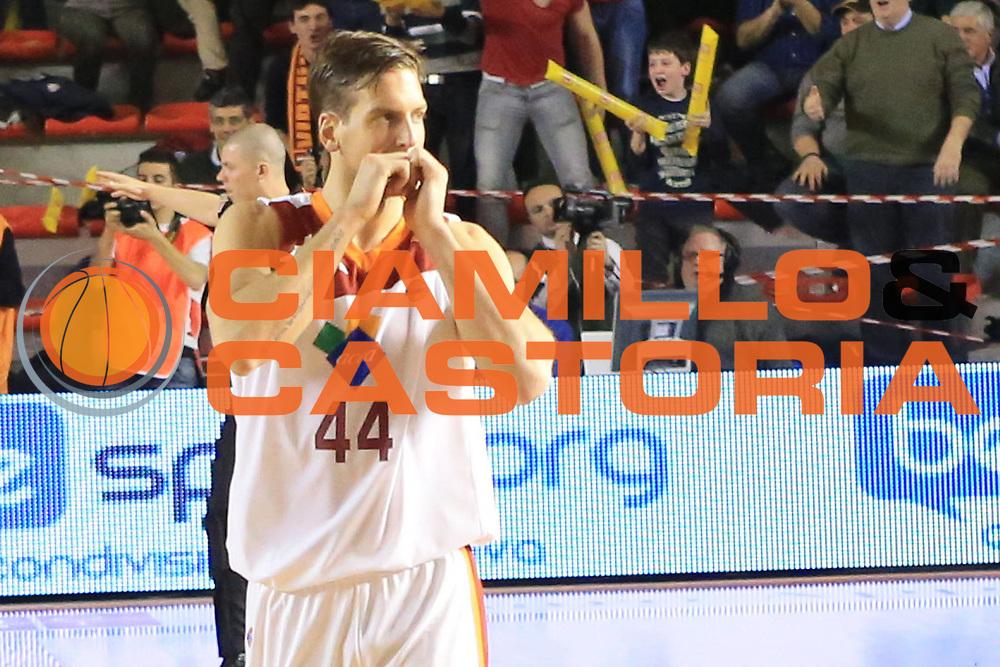 DESCRIZIONE : Roma Lega A 2012-2013 Acea Roma Oknoplast Bologna<br /> GIOCATORE : Peter Lorant<br /> CATEGORIA : delusione<br /> SQUADRA : Acea Roma<br /> EVENTO : Campionato Lega A 2012-2013 <br /> GARA : Acea Roma Oknoplast Bologna<br /> DATA : 24/03/2013<br /> SPORT : Pallacanestro <br /> AUTORE : Agenzia Ciamillo-Castoria/M.Simoni<br /> Galleria : Lega Basket A 2012-2013  <br /> Fotonotizia : Roma Lega A 2012-2013 Acea Roma Oknoplast Bologna<br /> Predefinita :