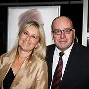 NLD/Hilversum/20141104 - Filmpremiere Night Eyes, Fred Teeven en partner Irma Klaassen