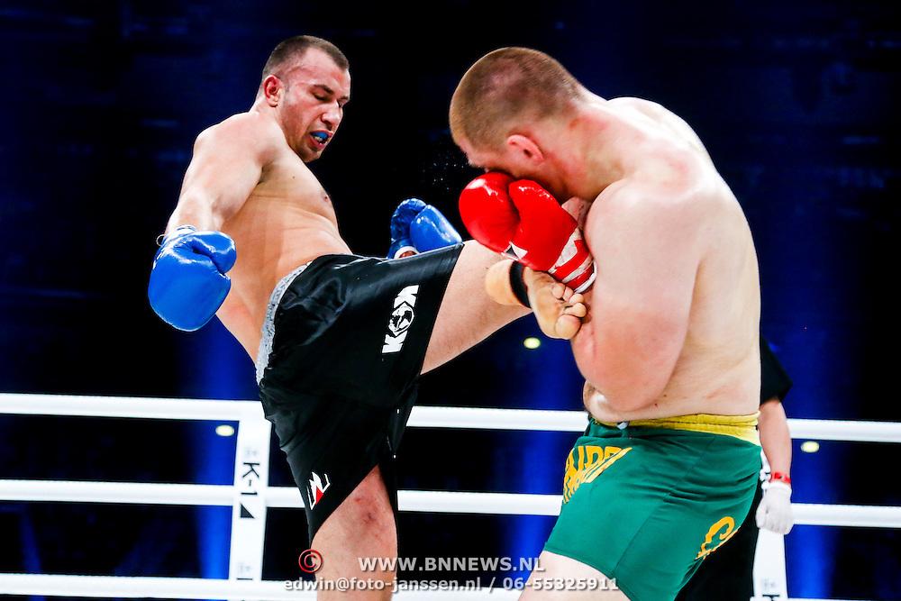 CRO/Zagreb/20130315- K1 WGP Finale Zagreb, final 1, Catalin Morosanu vs Pavel Zhuravlev