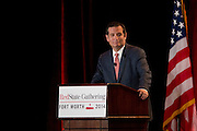 U.S. Senator Ted Cruz speaks during the 2014 RedState Gathering at the Worthington Renaissance Hotel in Fort Worth, Texas on August 8, 2014. (Cooper Neill for The Texas Tribune)