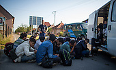Afgan Migrants in Hungary