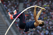 Axel Chapelle (FRA) competes in Pole Vault Men during the European Championships 2018, at Olympic Stadium in Berlin, Germany, Day 6, on August 12, 2018 - Photo Julien Crosnier / KMSP / ProSportsImages / DPPI