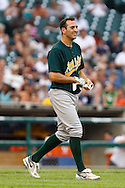 May 31, 2010: Oakland Athletics' Adam Rosales (7) during the MLB baseball game between the Oakland Athletics and Detroit Tigers at  Comerica Park in Detroit, Michigan. Oakland defeated Detroit 4-1.