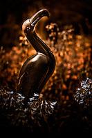 Zimsculpt at Van Dusen Botanical Garden: Rainbird - springstone sculpture by Stephen Chikeya (original sculpture available at www.zimsculpt.com)