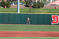 05 May 2018:  Eli Raslinson during an NCAA Division I Baseball game between the Bradley Braves and the Illinois State Redbirds in Duffy Bass Field, Normal IL