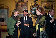 katherine Poulton; Andrea Perrone; Lily Cole, BRIONI FRAGRANCE LAUNCH. Annabels. Berkeley Sq. London. 14 October 2009. *** Local Caption *** -DO NOT ARCHIVE-© Copyright Photograph by Dafydd Jones. 248 Clapham Rd. London SW9 0PZ. Tel 0207 820 0771. www.dafjones.com.<br /> katherine Poulton; Andrea Perrone; Lily Cole, BRIONI FRAGRANCE LAUNCH. Annabels. Berkeley Sq. London. 14 October 2009.