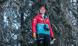 16.12.2016, Nordische Arena, Ramsau, AUT, FIS Weltcup Nordische Kombination, Skisprung, im Bild Cheftrainer Christoph Eugen (AUT) // Headcoach Christoph Eugen of Austria during Skijumping Competition of FIS Nordic Combined World Cup, at the Nordic Arena in Ramsau, Austria on 2016/12/16. EXPA Pictures © 2016, PhotoCredit: EXPA/ JFK