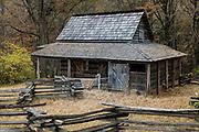 Historic backcountry farm house, Gastonia, North Carolina, USA.