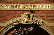 Whitbread Exchange Brewery, Sheffield. Circa 1988.