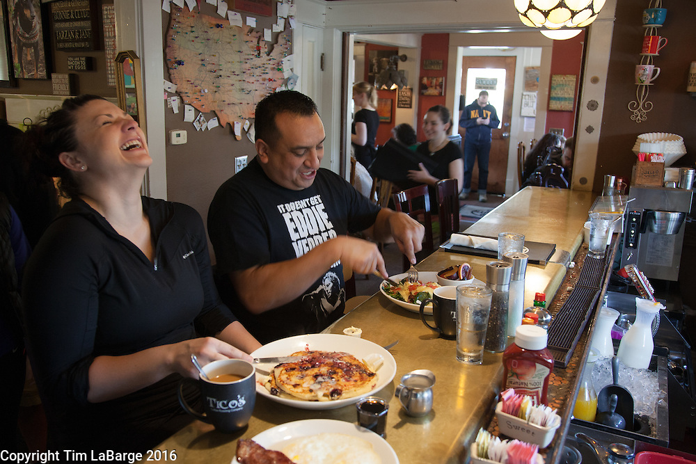 Brunch at Word of Mouth Neighborhood Bistro in Salem, Ore. Photo © Tim LaBarge 2016