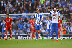 Brighton & Hove Albion miss another attempt on goal - Mandatory by-line: Jason Brown/JMP - 29/04/2017 - FOOTBALL - Amex Stadium - Brighton, England - Brighton and Hove Albion v Bristol City - Sky Bet Championship