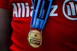 Gallagher Premiership Rugby winners medal - Mandatory by-line: Robbie Stephenson/JMP - 01/06/2019 - RUGBY - Twickenham Stadium - London, England - Exeter Chiefs v Saracens - Gallagher Premiership Rugby Final