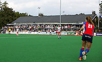 BILTHOVEN - Clubhuis van SCHC , zondag tijdens de hoofdklasse competitiewedstrijd tussen de vrouwen van SCHC en MOP (5-0). COPYRIGHT KOEN SUYK