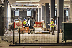 April 30, 2019 - Toronto, ON, Canada - TORONTO, ON - APRIL 30  -   Tour of Union Station's Revitalization Project, April 30, 2019. Andrew Francis Wallace/Toronto Star (Credit Image: © Andrew Francis Wallace/The Toronto Star via ZUMA Wire)