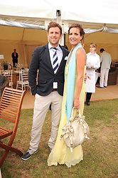Asprey World Class Cup polo held at Hurtwood Park Polo Club, Ewhurst, Surrey on 17th July 2010.<br /> Picture shows:- SOPHIE ANDERTON and