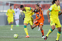 Lucas DEAUX / Walid MESLOUB - 20.12.2014 - Lorient / Nantes - 17eme journee de Ligue 1 -<br />