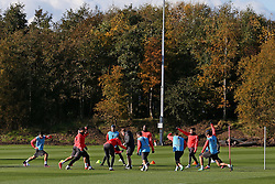 Manchester United players train  - Mandatory by-line: Matt McNulty/JMP - 19/10/2016 - FOOTBALL - Manchester United - Training session ahead of Europa League game against Fenerbahce