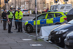 Police in Edinburgh are currently in attendance following the discovery of a man's body in East London Street.<br />