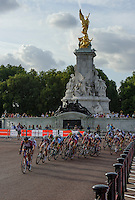 The Prudential RideLondon Grand Prix Youth Girls race. Prudential RideLondon is the world&rsquo;s greatest festival of cycling involving 70,000+ cyclists &ndash; from Olympic champions to a free family fun ride - riding in five events over closed roads in London and Surrey over the weekend of 9th and 10th August. <br /> <br /> Photo: Jon Buckle for Prudential RideLondon<br /> <br /> Saturday 9th August 2014<br /> <br /> See www.PrudentialRideLondon.co.uk for more.<br /> <br /> For further information: Penny Dain 07799 170433<br /> pennyd@ridelondon.co.uk